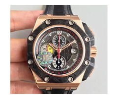 rose gold steel case black carbon fiber bezel top quality luxury watch men automatic cal.3126 moveme
