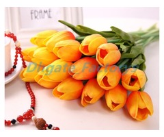 Latex Tulips Artificial PU Flower bouquet Real touch flowers For Home decoration Wedding Decorative