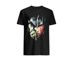 Marvel Comics Thor Ragnarok Cast T-shirts