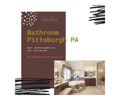 If you are considering to remodel the bathroom Pittsburgh PA