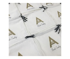 custom cotton jewelry bags