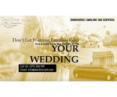 WEDDING PARTY BUS SERVICES DC