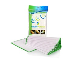 Eco Friendly Wood Fiber Cleaning Cloth   Simply Natural