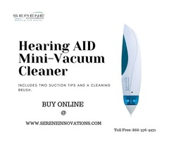 Buy Hearing AID Mini Vacuum Cleaner from Serene Innovations