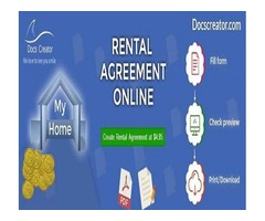 Create a Rental Agreement Online on Docscreator.com