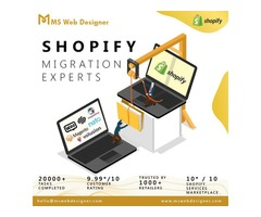 Hire Shopify migration experts at affordable price