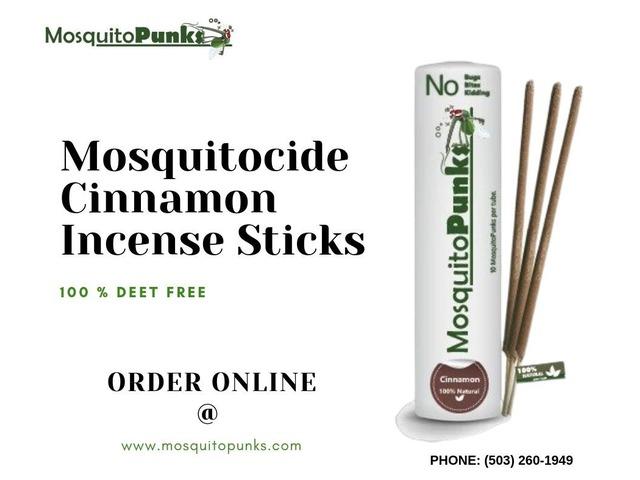 BuyAllNaturalMosquitocideCinnamonIncenseSticks