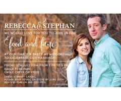 Cheap weeding invitations