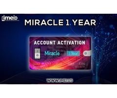 Miracle 1 Year