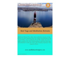 best silent meditation retreats|Peru Spiritual journey