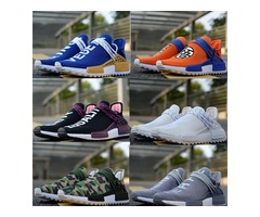 designer shoes human race Pharrell Williams Hu Trail mens sports casual shoes Holi Canvas SPORT athl