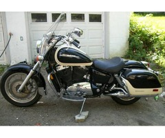 2001 Honda Shadow VT 1100 touring