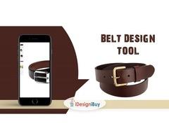 Belt Customization Software in USA | Web2Print