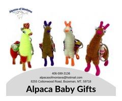 Alpaca Baby Gifts | Hand Crafted - Alpacasofmontana