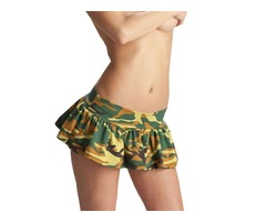 Buy Camouflage Mini Skirt Online at Liquid Latex Online