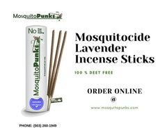 Get Rid of Mosquitoes with Mosquitopunks Incense Sticks