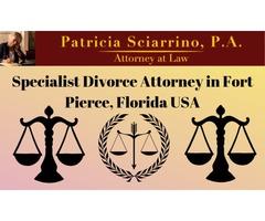Specialist Divorce Attorney in Fort Pierce, Fl.