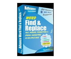Advance Word Find and Replace Pro