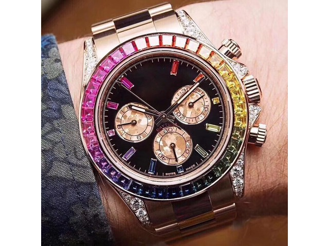 Eagle production High quality men's automatic mechanical movement watch 116598 RBOW watch with 7750  | free-classifieds-usa.com