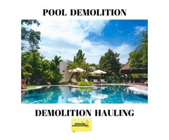 In-ground Pool Removal service in San Antonio | Pool Demolition contractor | Pool installation
