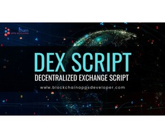 Decentralized Exchange Script | Decentralized Exchange Development | Decentralized Exchange Software