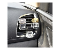 Car Ornament Decoration Perfume Empty Bottle Vents Clip Auto Air Freshener Automobiles Air Condition