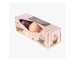 Get trendy Custom Bath bomb packaging Wholesale