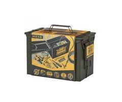 Portable 12 volt tire inflator-Master Flow