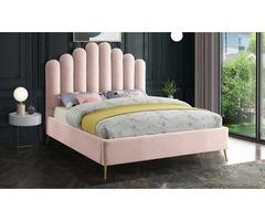 Sedona Contemporary Velvet Bed - Get.Furniture