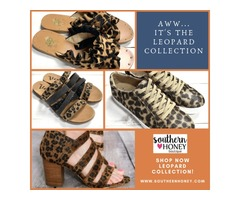 Shop fashionable Women's Designer Shoes from Southern Honey Boutique