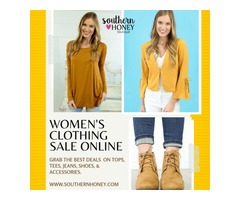 Visit Women's Clothing Sale Online And Re-fill Your Wardrobe