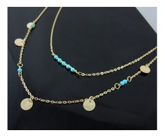 Shop online for turquoise pendant necklace