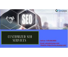 Result-oriented customized SEO services by Simosys