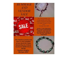 Saint Paul's United Church of Christ rummage / Vendor sale