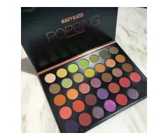 New Arrival Hot Brand makeup Palette Beauty Glazed POPPING Palette Eyeshadow 35colors Eye shadow Top