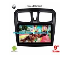 Renault Sandero Car stereo audio radio android GPS navigation camera