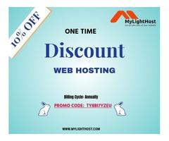 Enjoy 10% OFF on web hosting plans