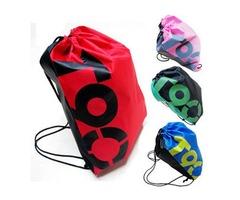 Outdoor Traveling Sports Gym Waterproof  Backpack Drawstring Bag