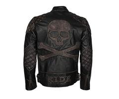 Halloween Leather Jacket