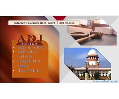 Legal Judgement Lucknow High Court | Judgement Online