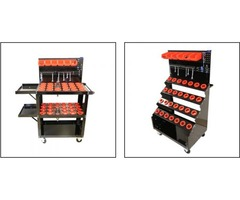 Shop with Uratech USA for High Precision HSK 100 Tool Holder carts.