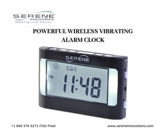 Be on Time Always with Wireless Vibrating Alarm Clocks