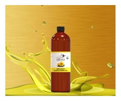 Shop Now! Sunflower Seed Oil, Organic to Hydrate And Soften for Your Skin