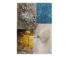 fine quality gold dust and rough diamond for sale from Africa