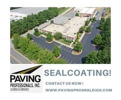 Seal Coating Contractor in Garner