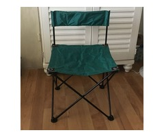 Outdoor, Portable, Collapsible, Heavy-duty Frame Stool w/Storage Bag