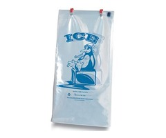 Wicketed 8 lb. Ice Bags Wholesale