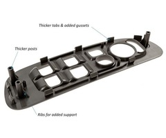 Buy Dodge Ram Window Switch Bezel at Affordable Prices | free-classifieds-usa.com