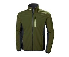Helly Hansen Men's Crew Series Softshell Winter Jacket   Men's Outdoor & Hiking Jackets