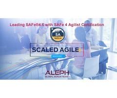 SAFeAgilist  | Certification Course | AlephTechnologies